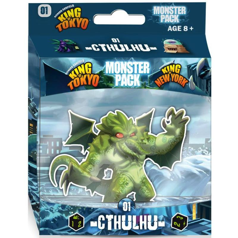 King of Tokyo/New York: Monster Pack – Cthulhu - Thirsty Meeples