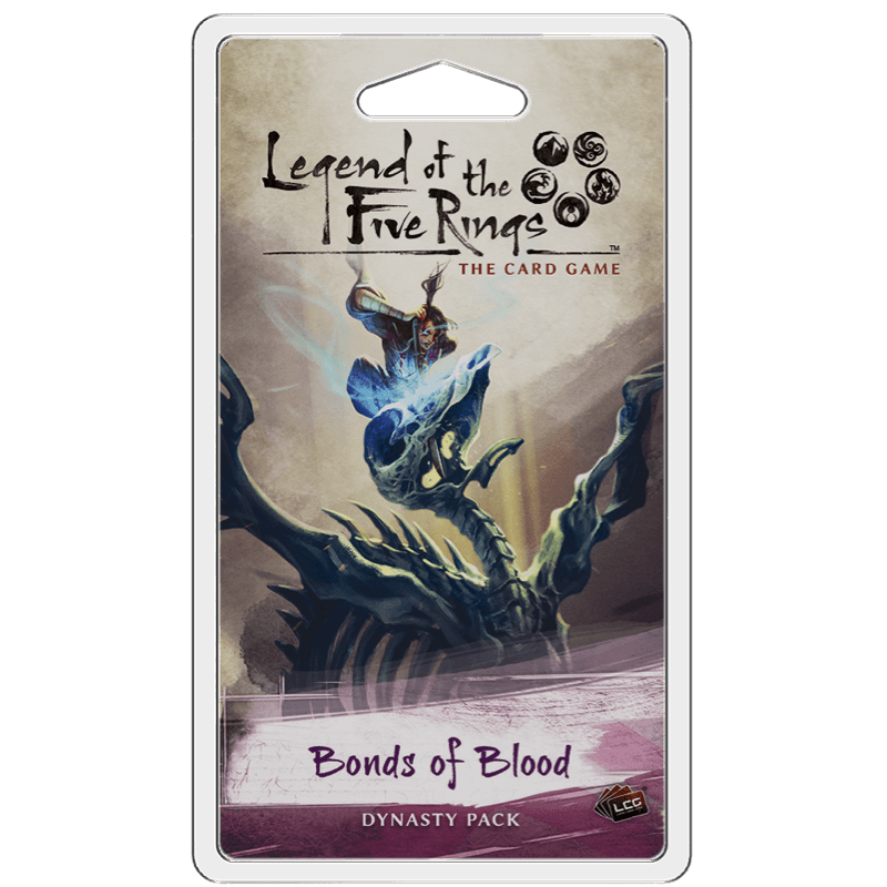 Legend of the Five Rings: The Card Game - Bonds of Blood Dynasty Pack (PRE-ORDER)
