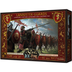 A Song of Ice & Fire: Tabletop Miniatures Game – Lannister Guards