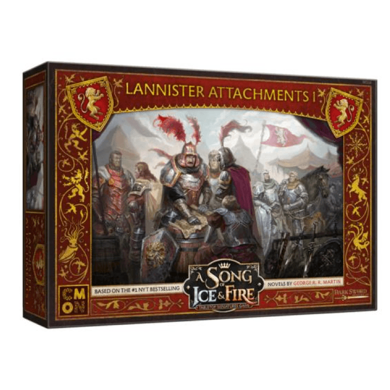 A Song of Ice & Fire: Tabletop Miniatures Game – Lannister Unit Attachments