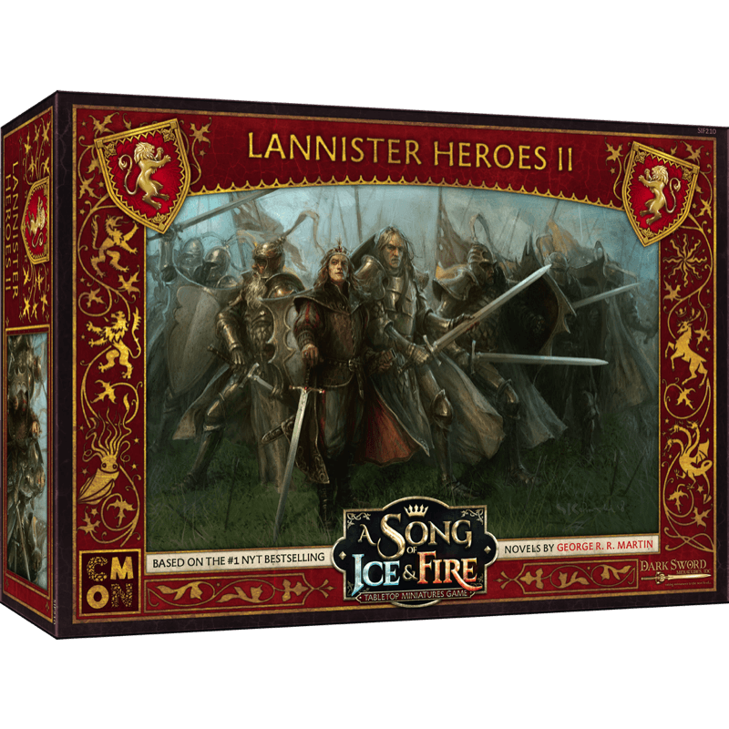 A Song of Ice & Fire: Tabletop Miniatures Game – Lannister Heroes II (PRE-ORDER)