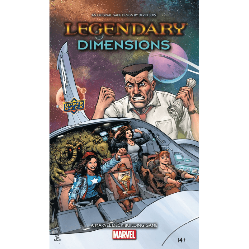 Legendary: A Marvel Deck Building Game – Dimensions (PRE-ORDER)