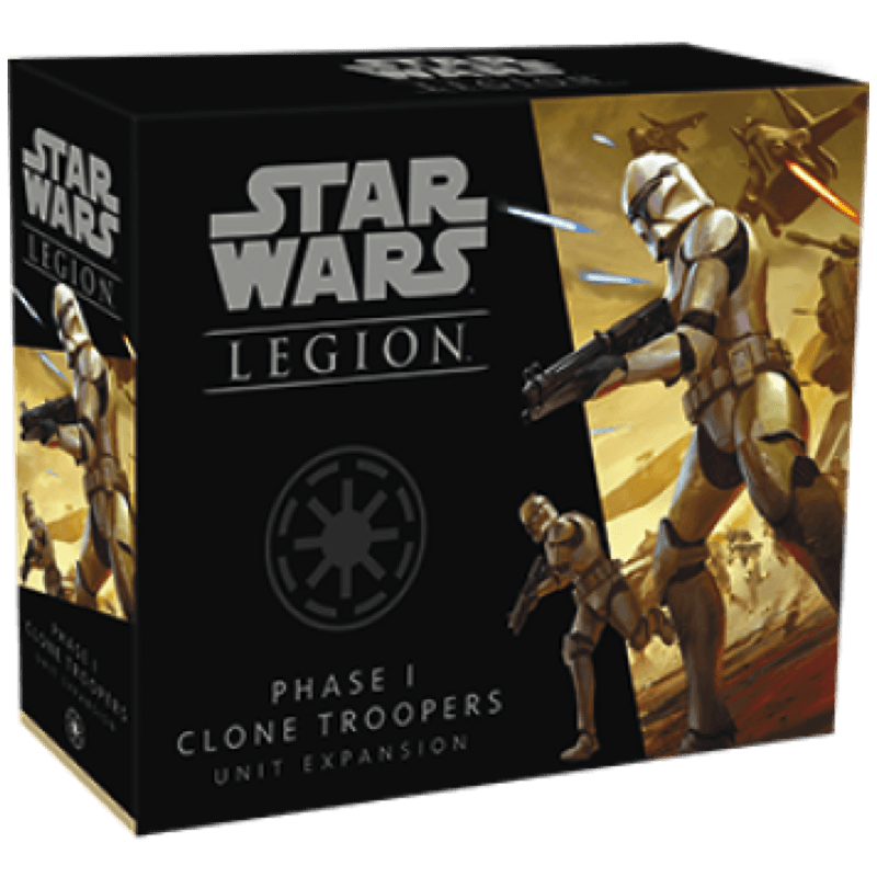 Star Wars: Legion – Phase I Clone Troopers Unit Expansion (PRE-ORDER)