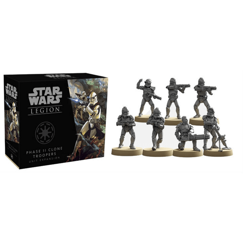 Star Wars: Legion – Phase II Clone Troopers Unit Expansion (PRE-ORDER)