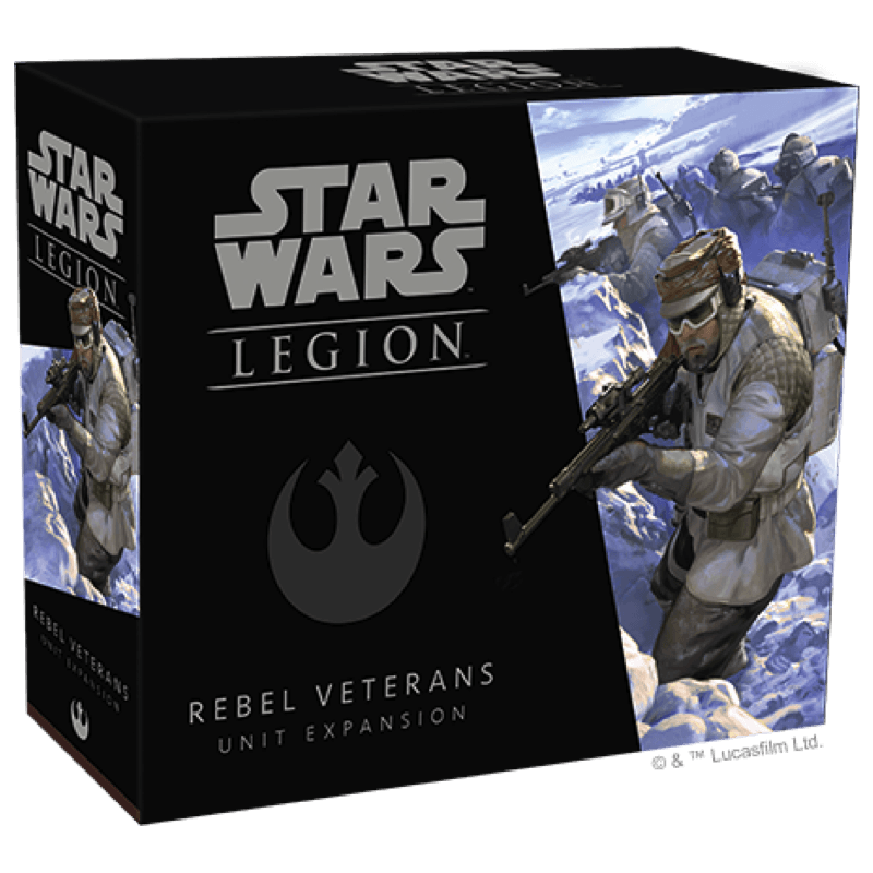Star Wars: Legion – Rebel Veterans Unit Expansion