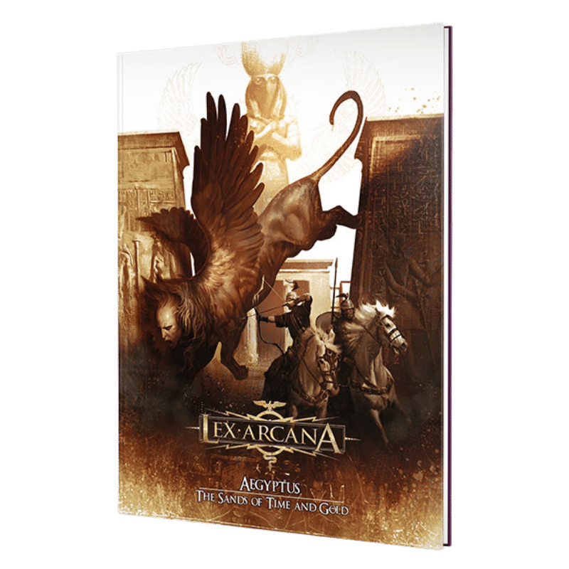 Lex Arcana RPG:  Aegyptus – The Sands of Time and Gold (PRE-ORDER)