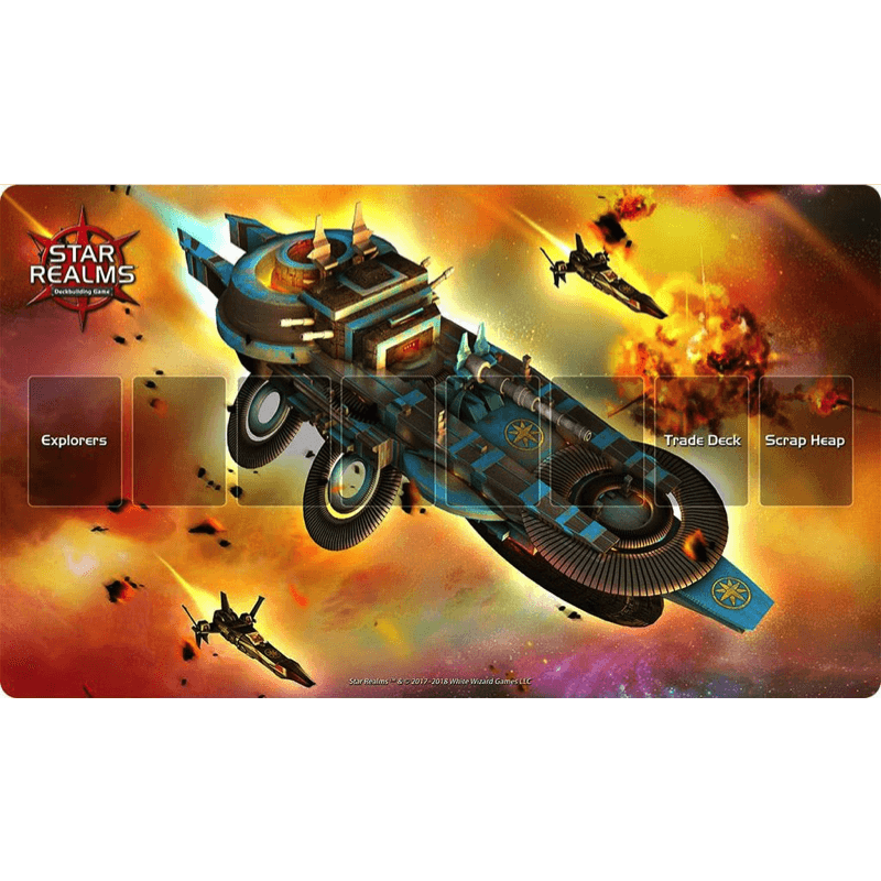Star Realms: Light Cruiser Playmat