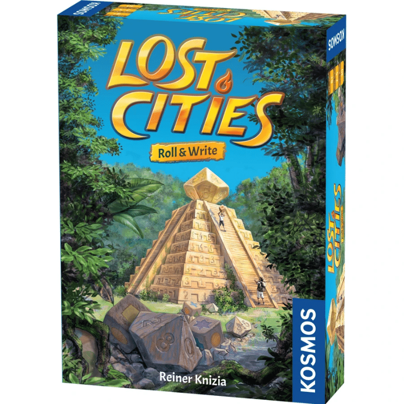 Lost Cities Roll & Write (PRE-ORDER)