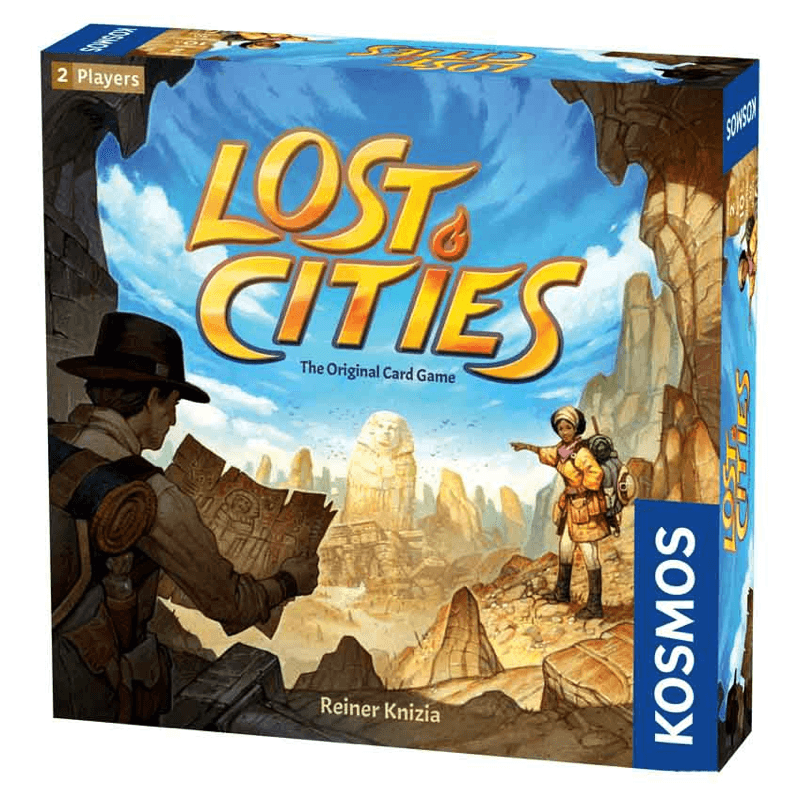 Lost Cities: The Card Game - Thirsty Meeples