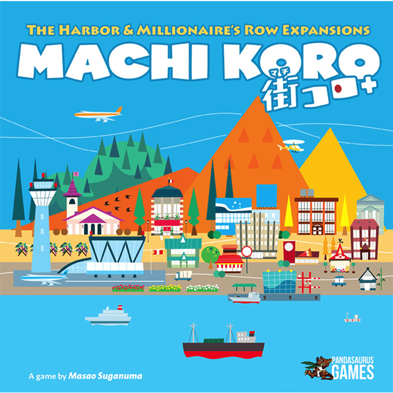Machi Koro: 5th Anniversary - Harbour and Millionaire's Row Expansion