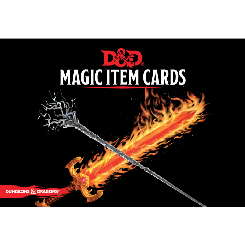 Dungeons & Dragons (5th Edition): Magic Item Cards