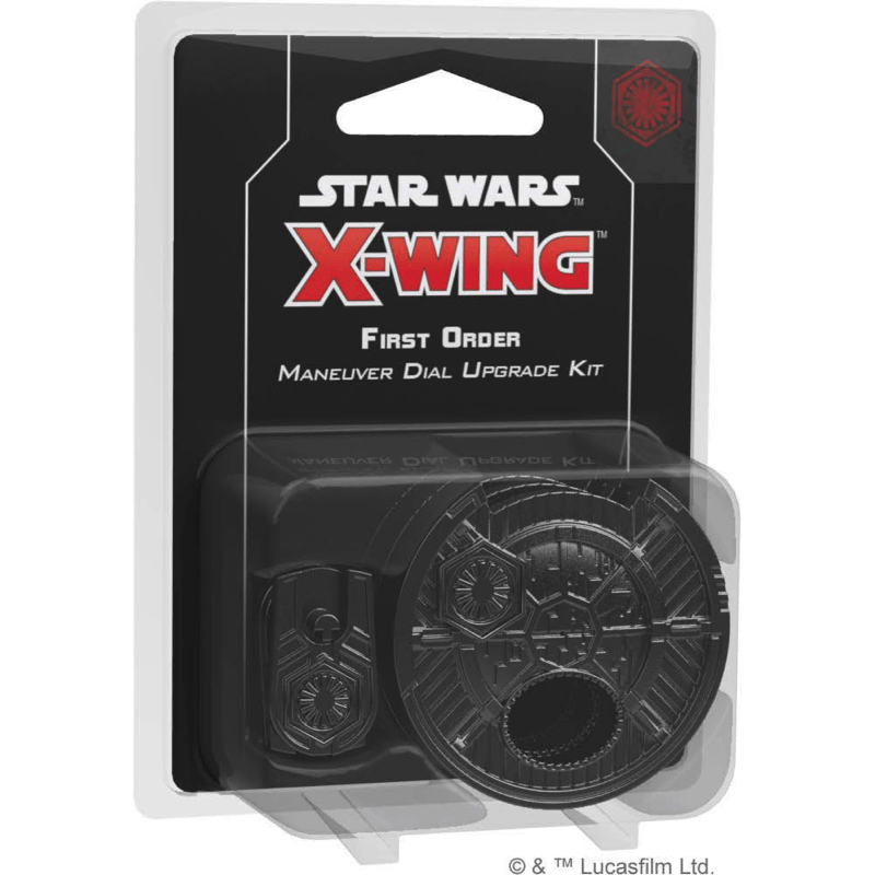 Star Wars: X-Wing (Second Edition) – First Order Maneuver Dial Upgrade Kit (PRE-ORDER)