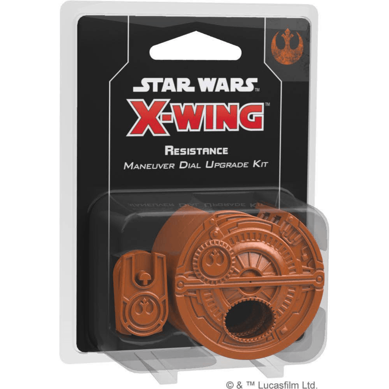 Star Wars: X-Wing (Second Edition) – Resistance Maneuver Dial Upgrade Kit (PRE-ORDER)