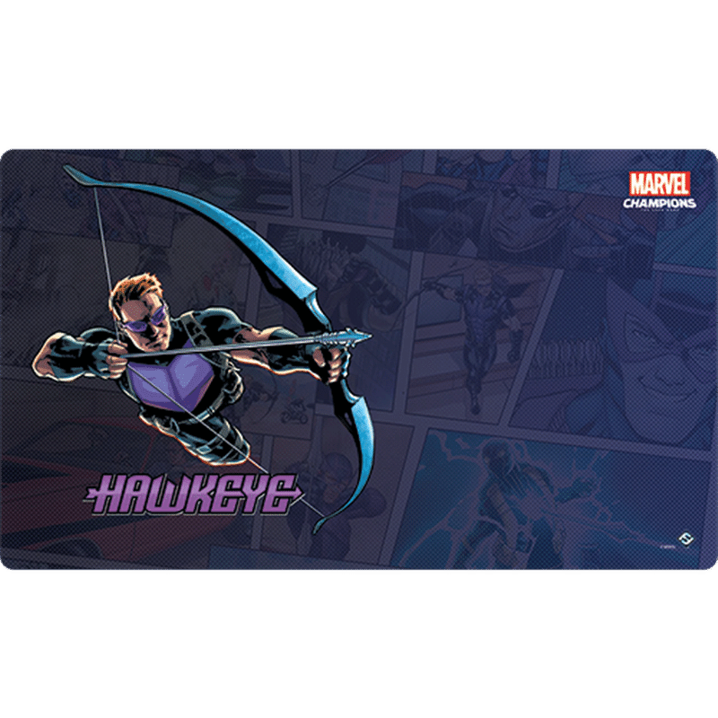 Marvel Champions: The Card Game – Hawkeye Game Mat (PRE-ORDER)