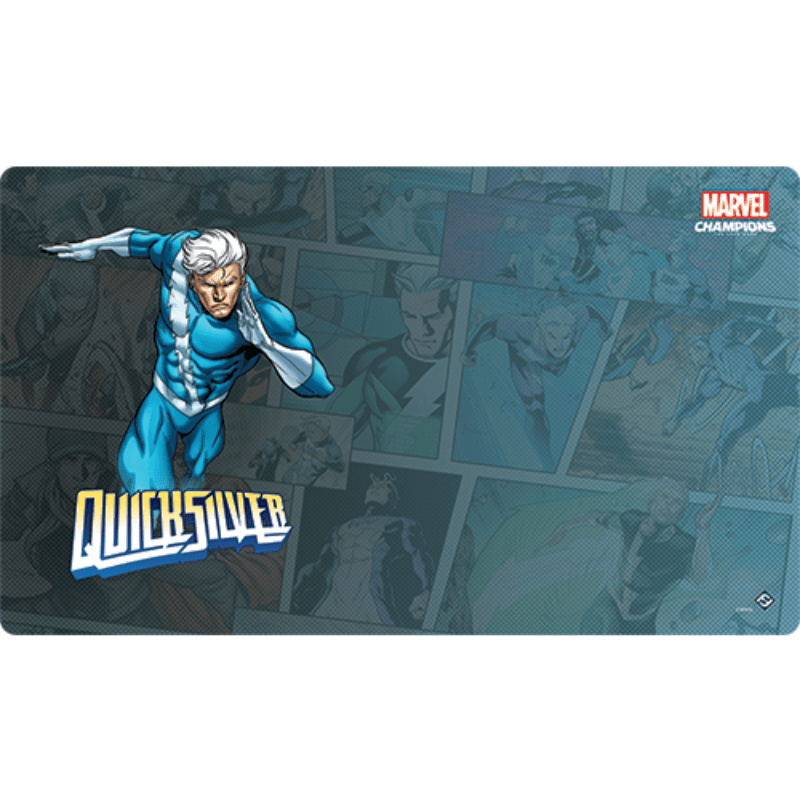 Marvel Champions: The Card Game – Quicksilver Game Mat (PRE-ORDER)