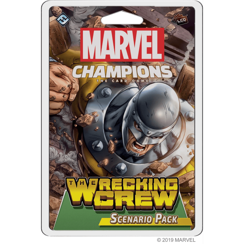 Marvel Champions: The Card Game – The Wrecking Crew (Scenario Pack)