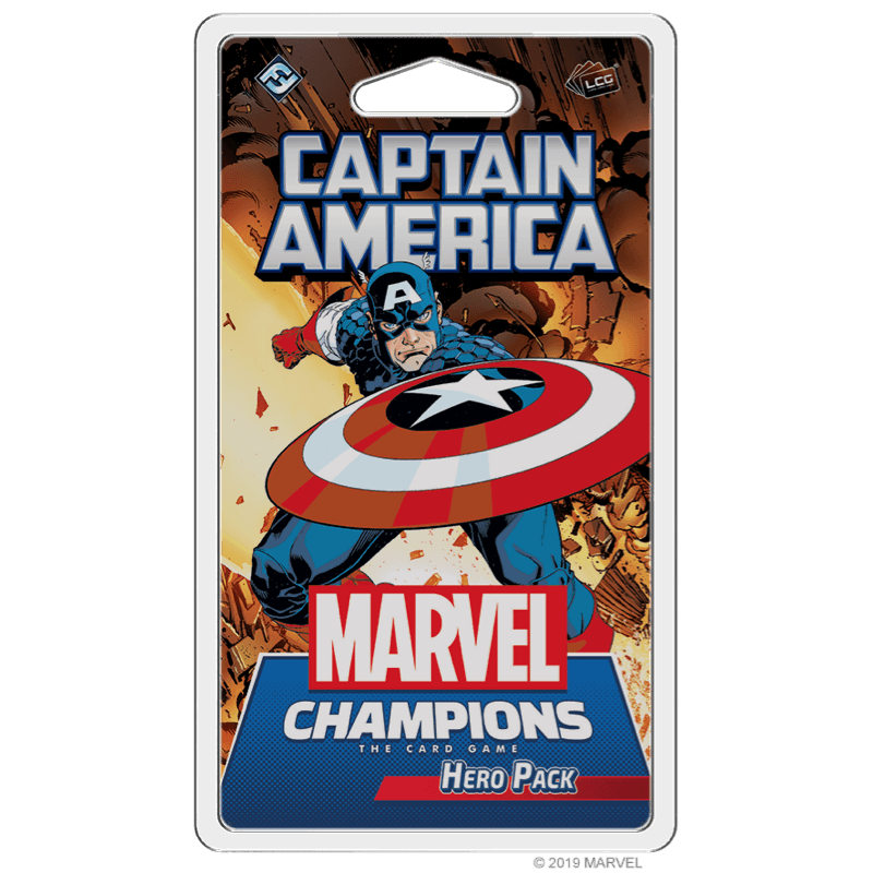 Marvel Champions: The Card Game – Captain America (Hero Pack)