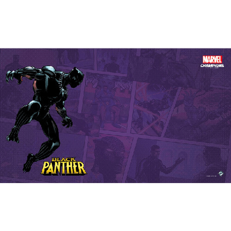 Marvel Champions: The Card Game – Black Panther Game Mat