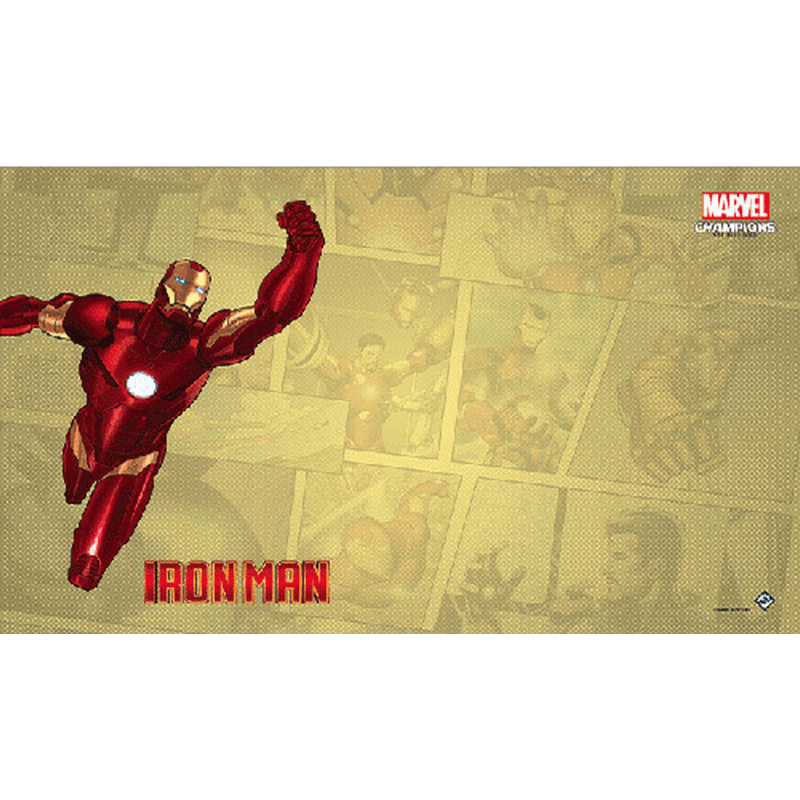 Marvel Champions: The Card Game – Iron Man Game Mat