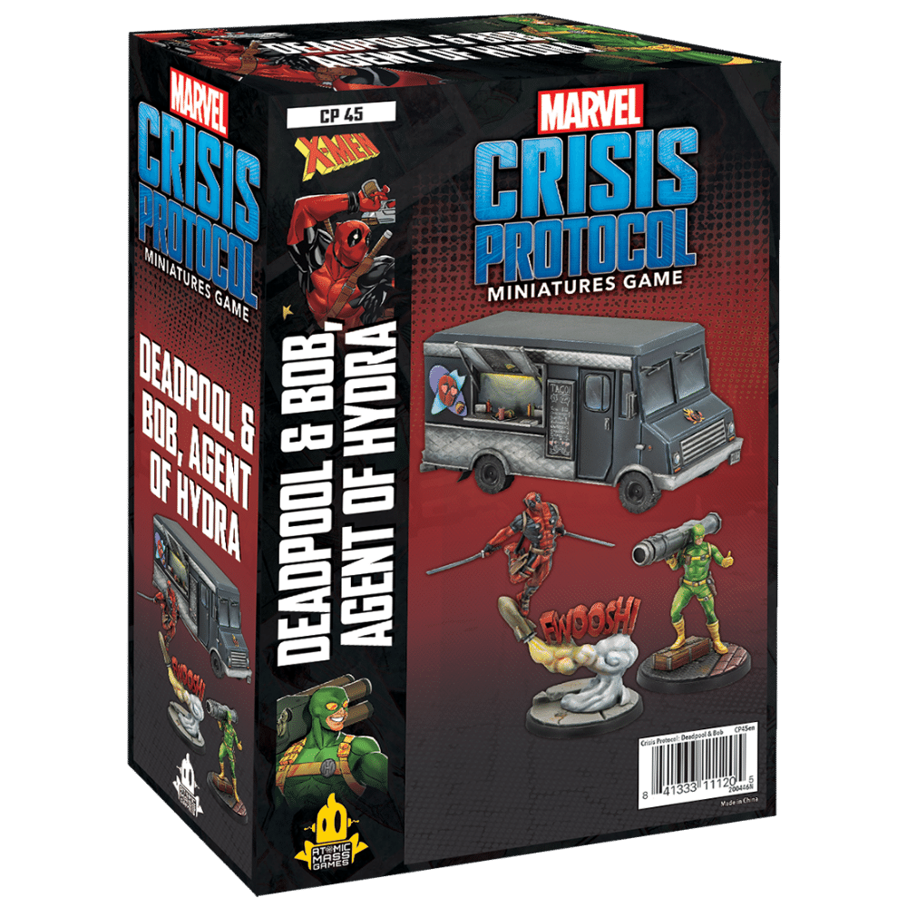 Marvel: Crisis Protocol – Deadpool and Bob (PRE-ORDER)