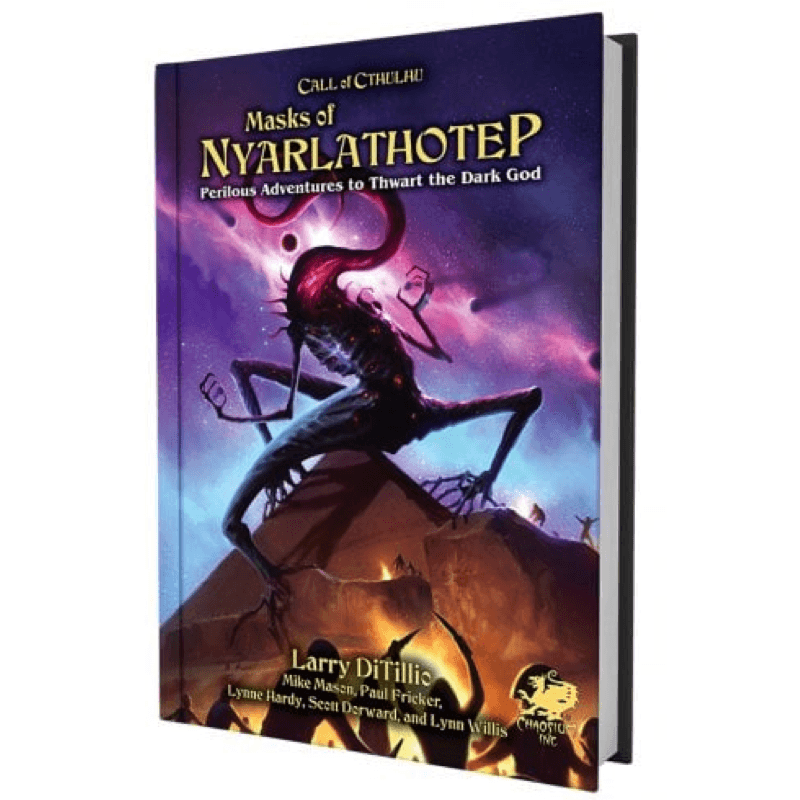 Call of Cthulhu (7th Edition):  Masks of Nyarlathotep (Slip Case Edition)