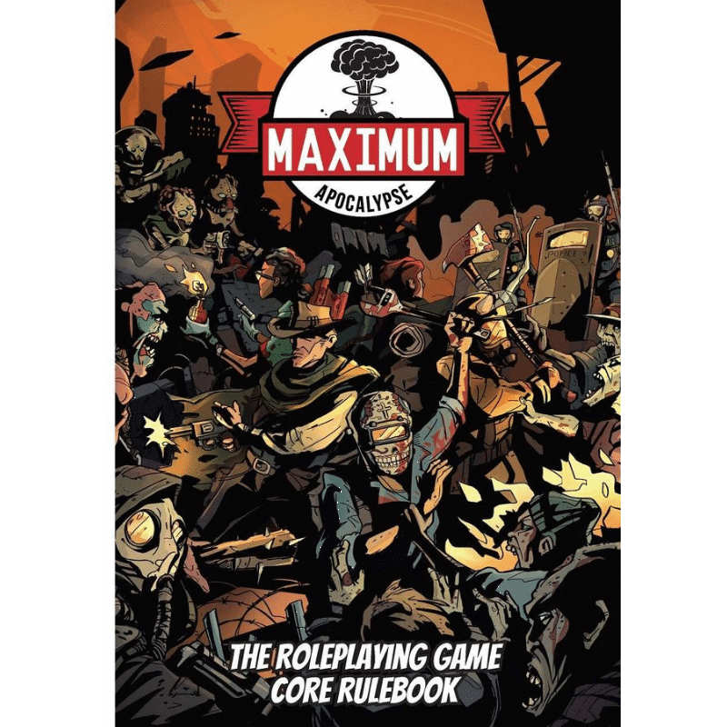 Maximum Apocalypse RPG: Core Rulebook (PRE-ORDER)