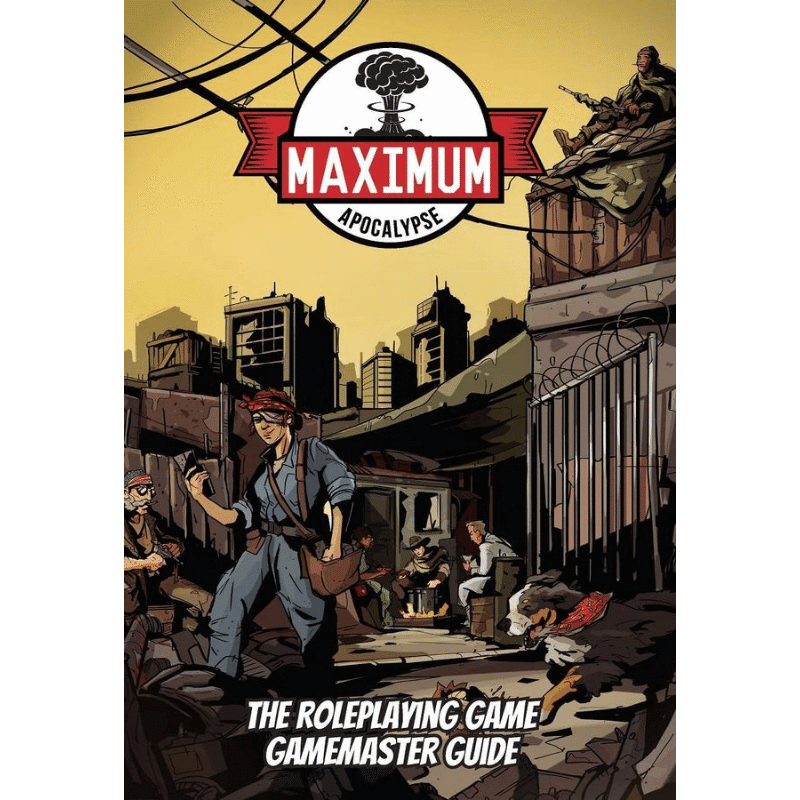Maximum Apocalypse RPG: Gamemaster Guide (PRE-ORDER)