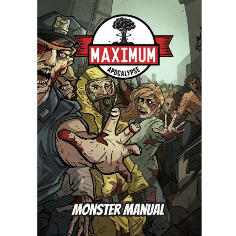 Maximum Apocalypse RPG: Monster Manual (PRE-ORDER)