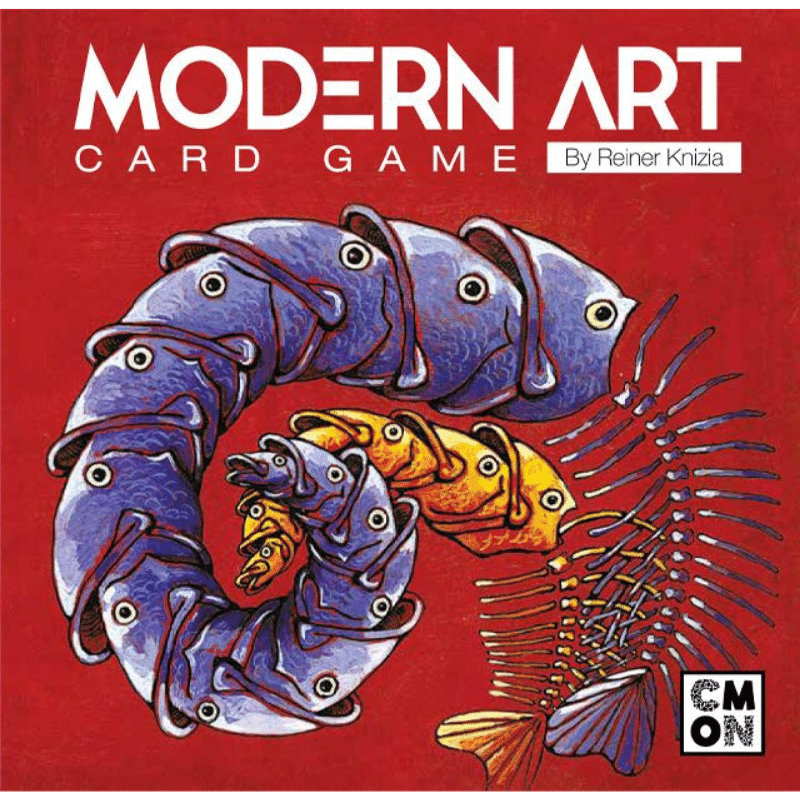 Modern Art: The Card Game
