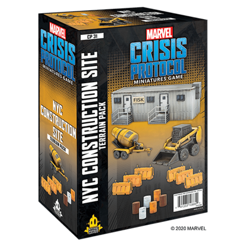 Marvel: Crisis Protocol – NYC Construction Site Terrain Pack