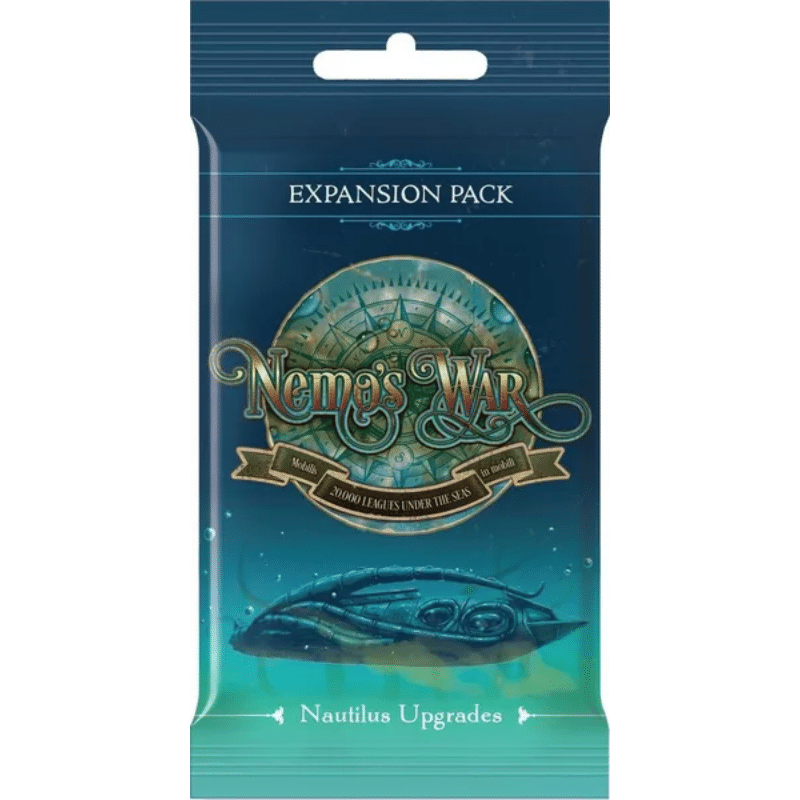 Nemo's War (Second Edition): Nautilus Upgrade Pack (Expansion Pack #1)