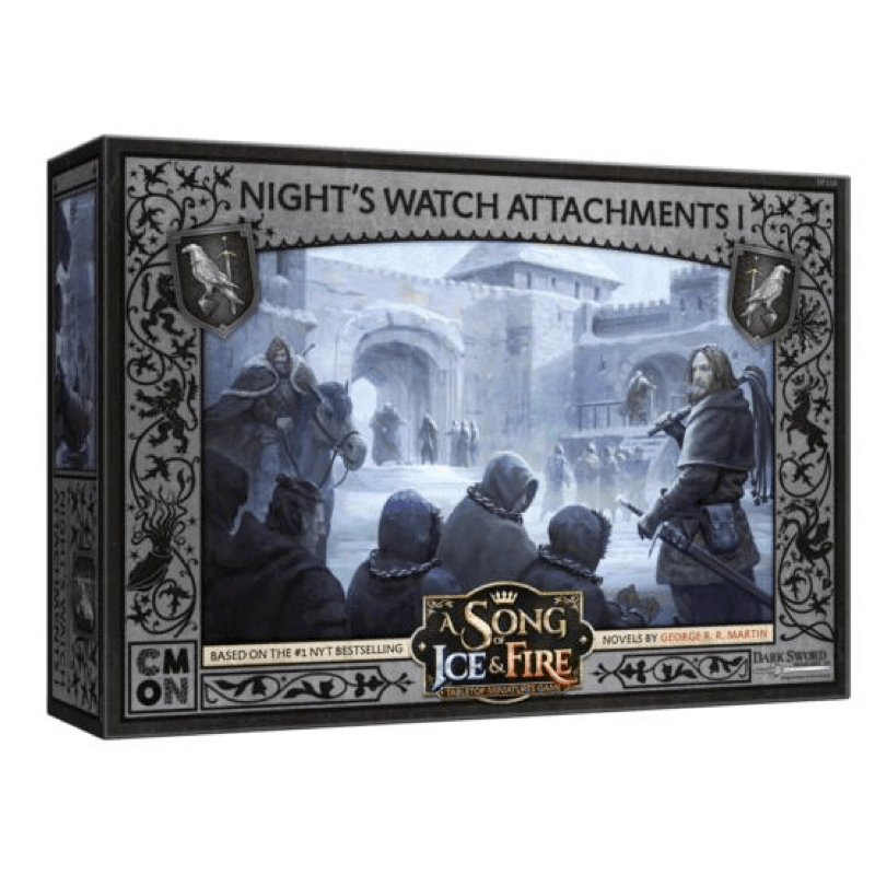 A Song of Ice & Fire: Tabletop Miniatures Game – Night's Watch Attachments