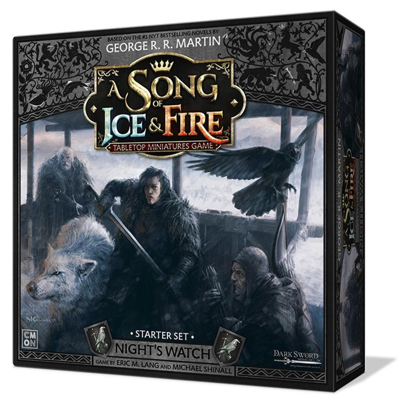 A Song of Ice & Fire: Tabletop Miniatures Game - Night's Watch Starter Set (PRE-ORDER)