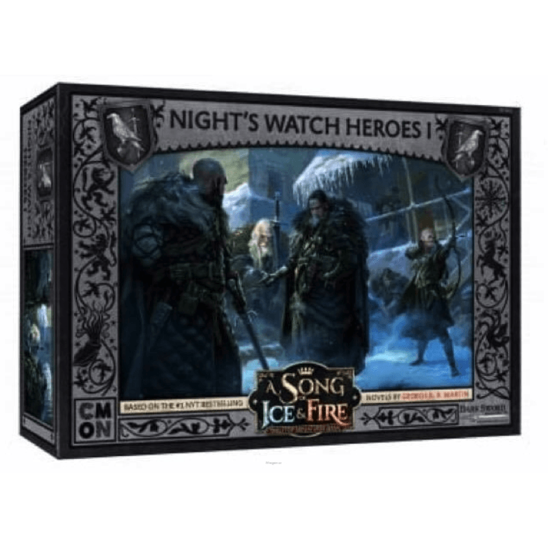 A Song of Ice & Fire: Tabletop Miniatures Game – Night's Watch Heroes #1 (PRE-ORDER)