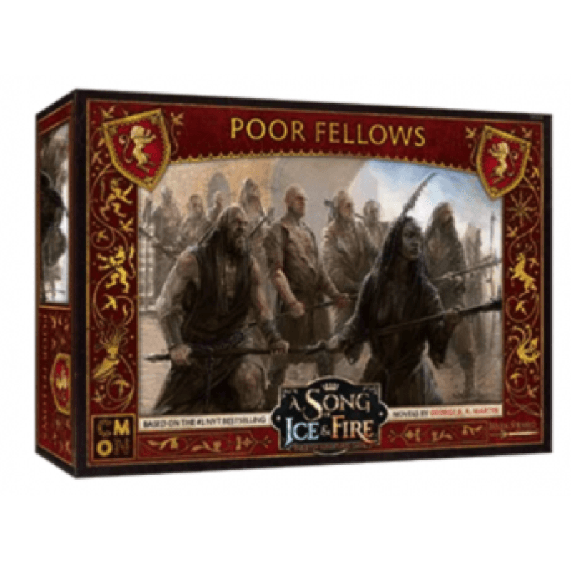 A Song of Ice & Fire: Tabletop Miniatures Game – Lannister Poor Fellows