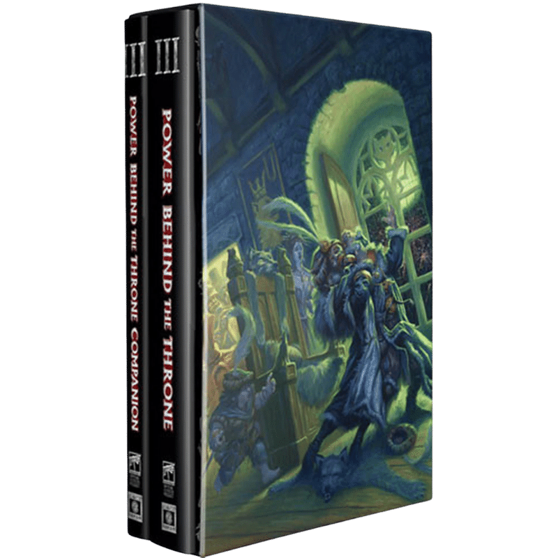 Warhammer Fantasy Roleplay (4th Edition): Power Behind The Throne - The Enemy Within Campaign Vol. 3 (Collector's Edition) (PRE-ORDER)