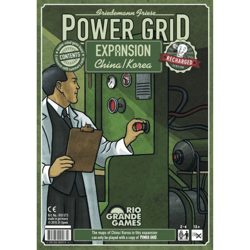 Power Grid: China/Korea (Recharged)