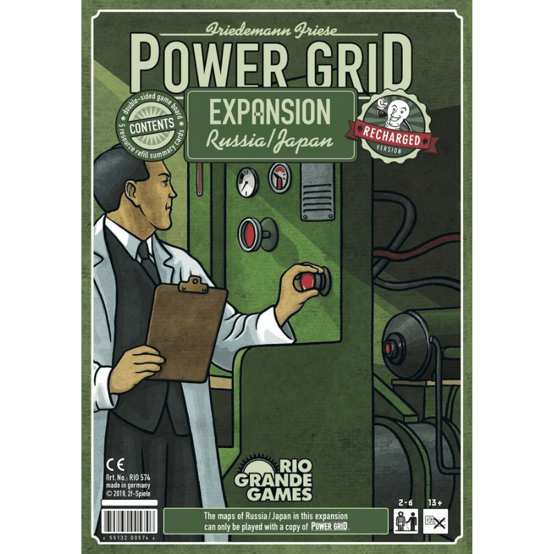 Power Grid: Russia & Japan (Recharged)