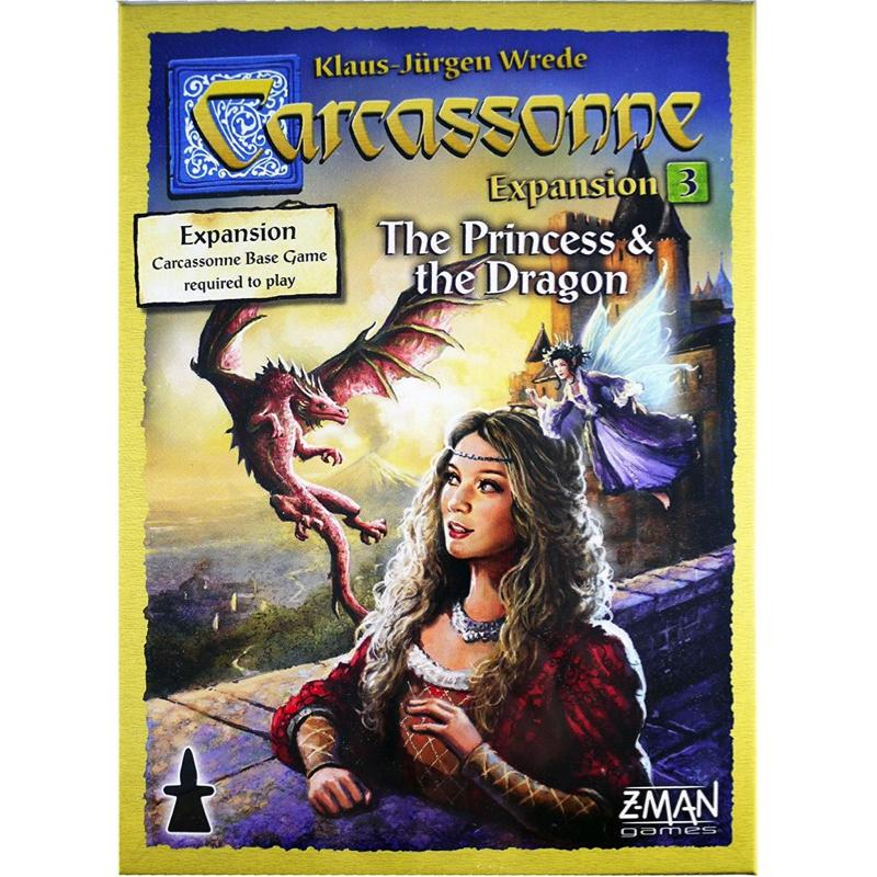 Carcassonne: Expansion 3 - The Princess & the Dragon - Thirsty Meeples