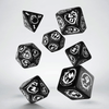Q Workshop: Dragons Black & White Dice Set
