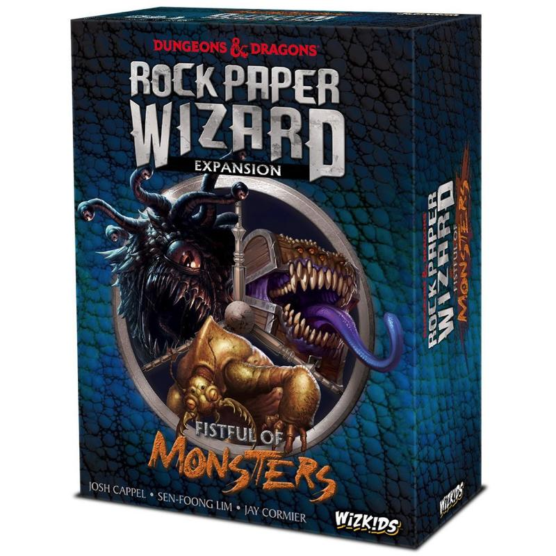 Dungeons & Dragons: Rock Paper Wizard – Fistful of Monsters