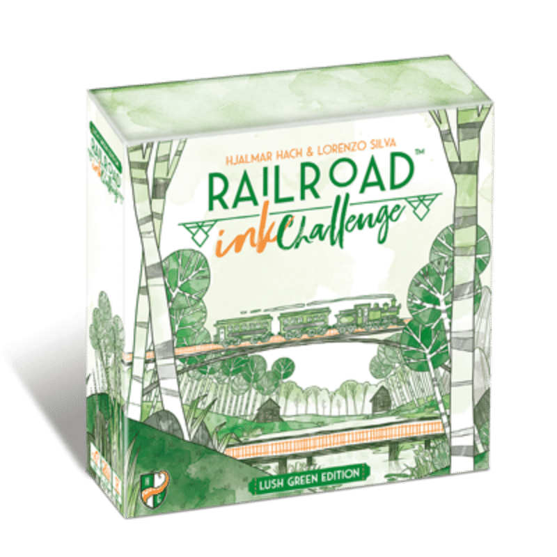 Railroad Ink Challenge: Lush Green Edition (PRE-ORDER)