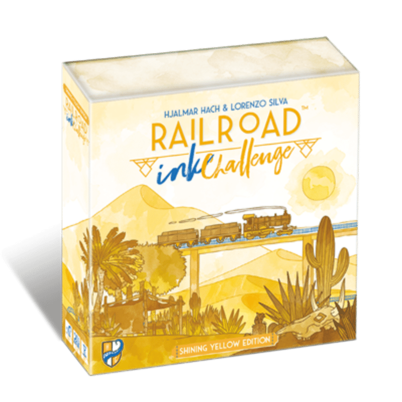 Railroad Ink Challenge: Shining Yellow Edition (PER-ORDER)