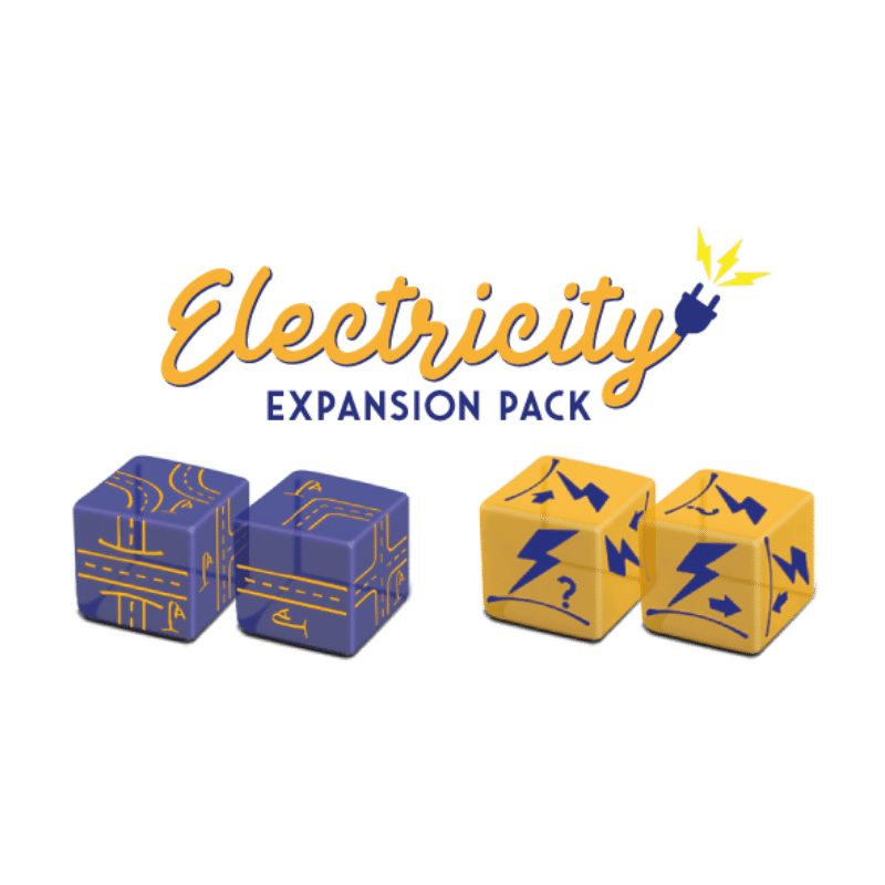 Railroad Ink: Electricity Expansion Pack (PRE-ORDER)