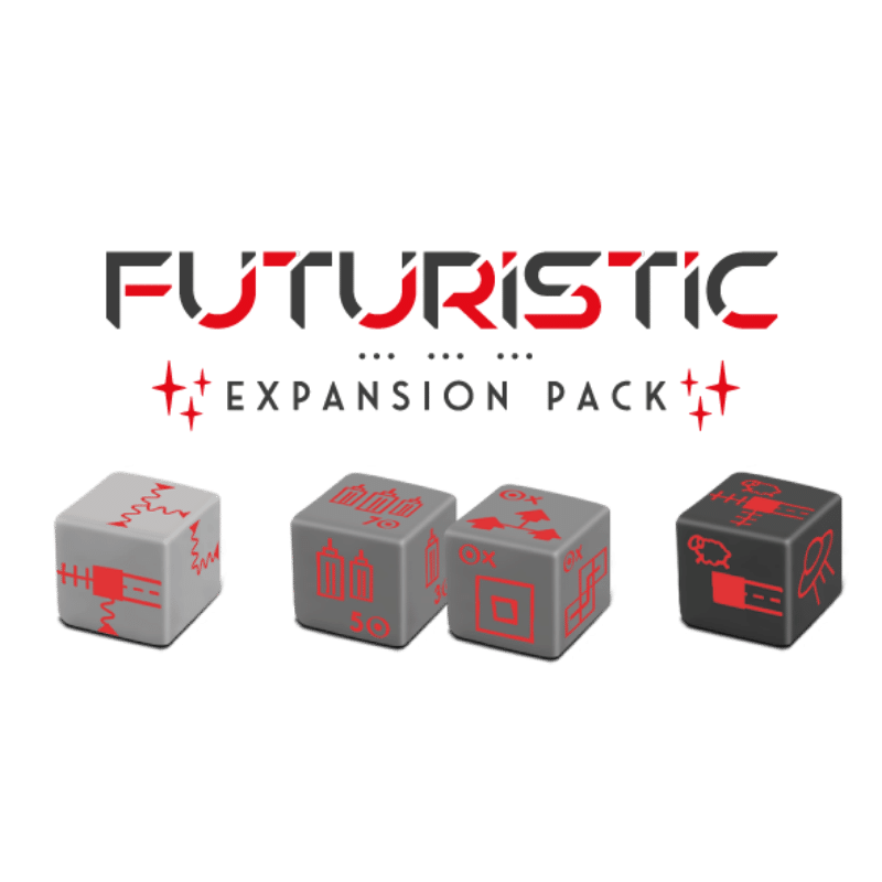 Railroad Ink: Future Expansion Pack (PRE-ORDER)