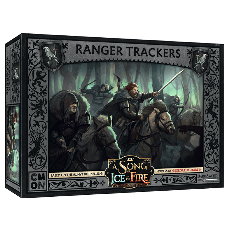 A Song of Ice & Fire: Tabletop Miniatures Game – Night's Watch Ranger Trackers (PRE-ORDER)