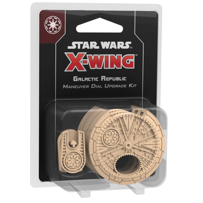 Star Wars: X-Wing (Second Edition) – Galactic Republic Maneuver Dial Upgrade Kit