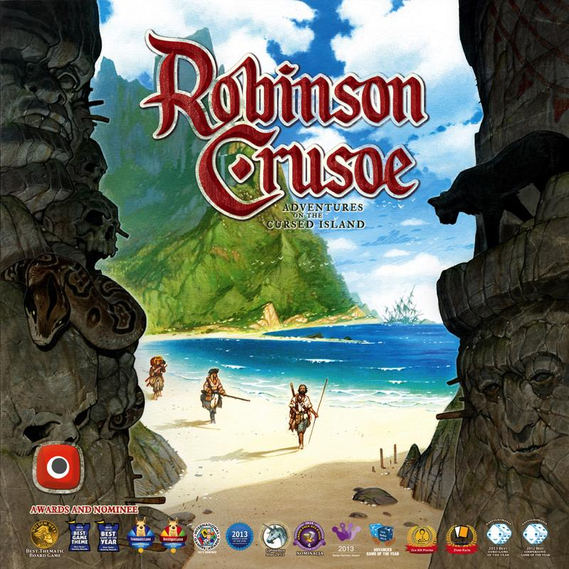 Robinson Crusoe: Adventure on the Cursed Island (4th Edition) - Thirsty Meeples