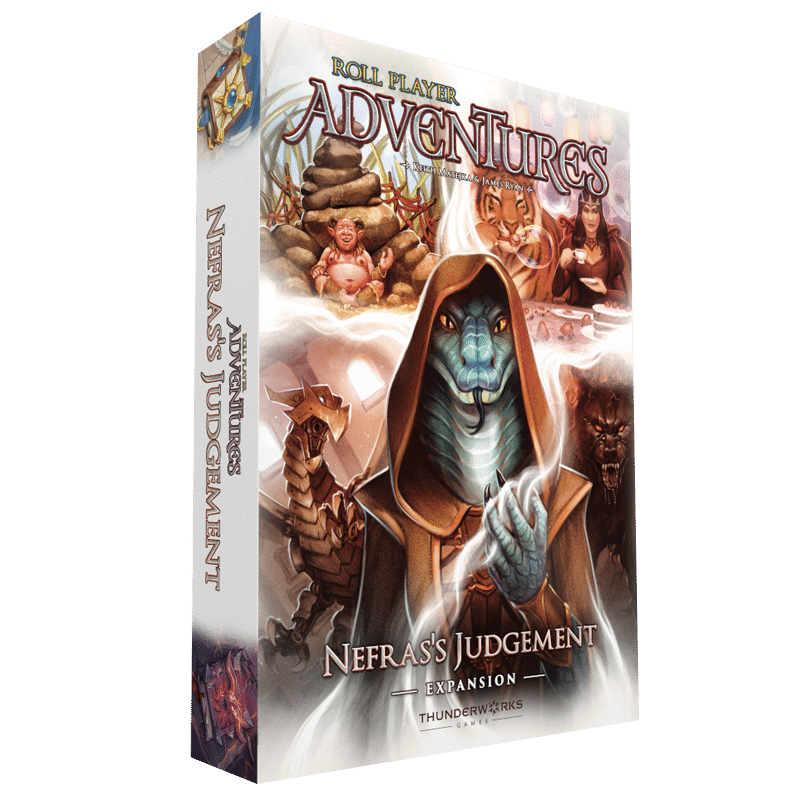 Roll Player Adventures: Nefras's Judgement (PRE-ORDER)