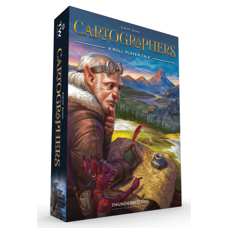 Cartographers: A Roll Player Tale (PRE-ORDER)